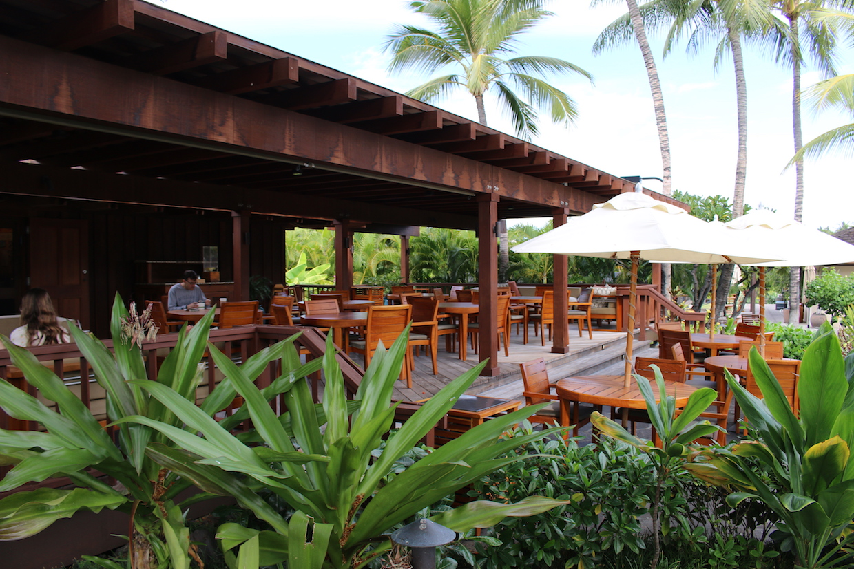 Hualalai coffee four seasons