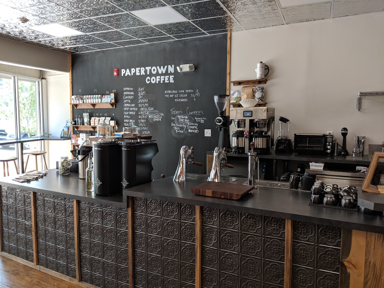Papertown Coffee NC 5