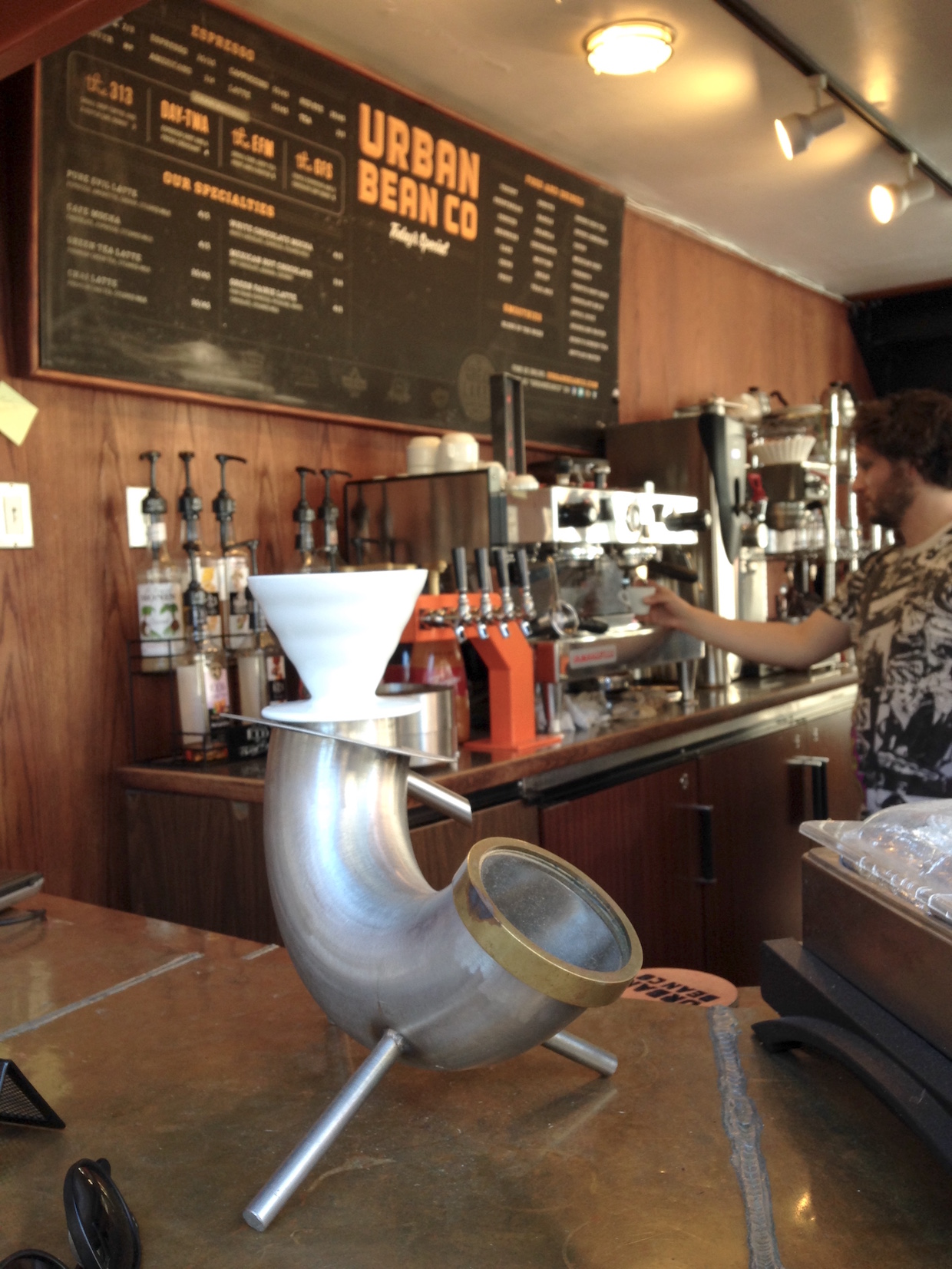 Urban Bean inside – photo credit Craig b