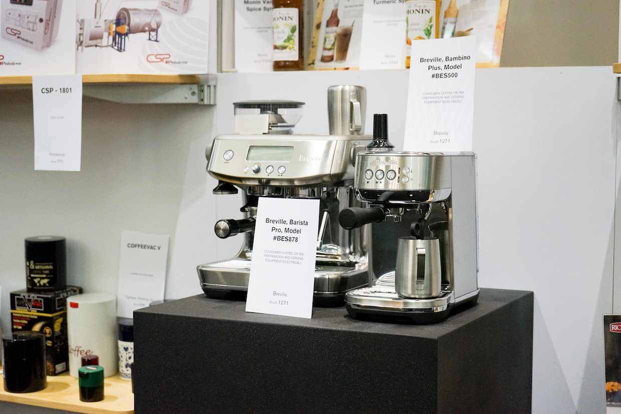 breville in BNP showcase