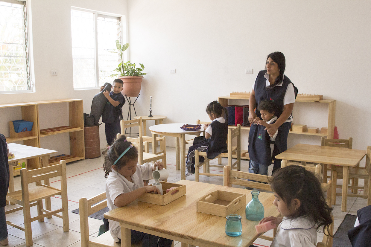 learning in first school Guatemala City
