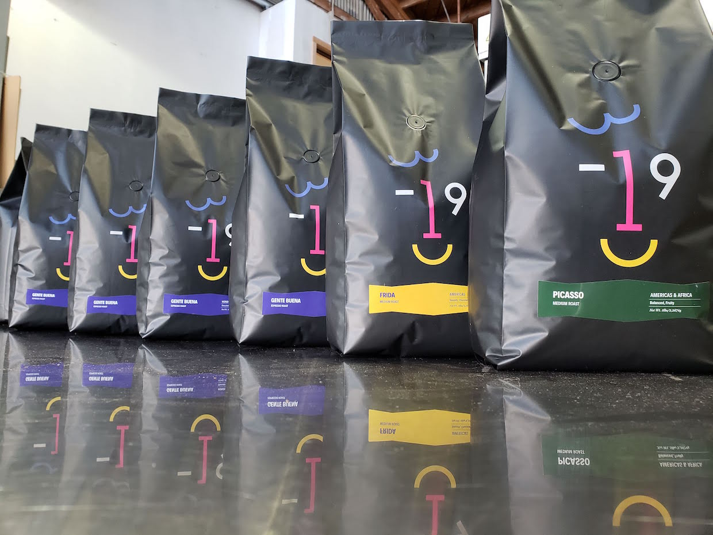 3-19 coffee bags
