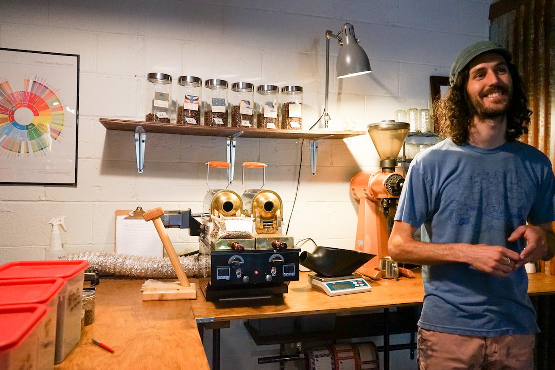 Clint Rowan by sample roaster