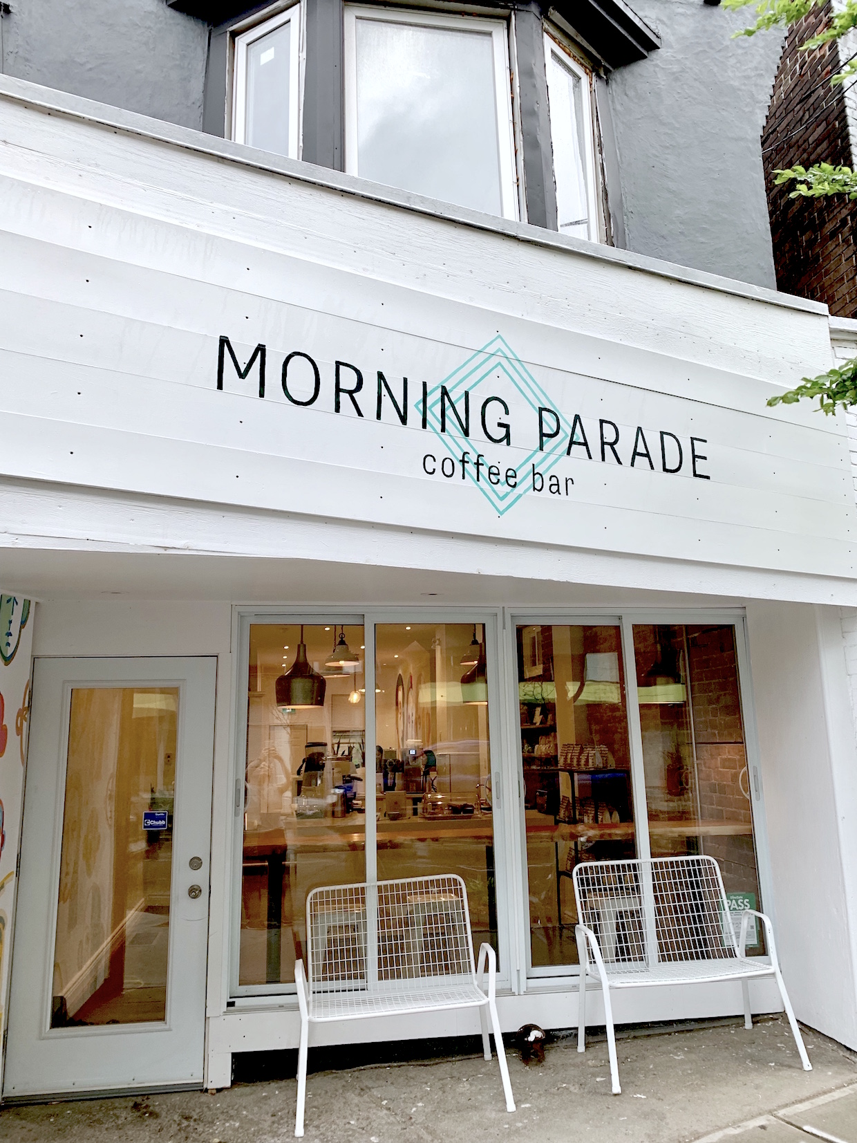 Morning Parade Coffee Bar Outside