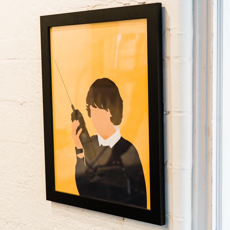 Walkie Talkie Espresso & Coffee wall art