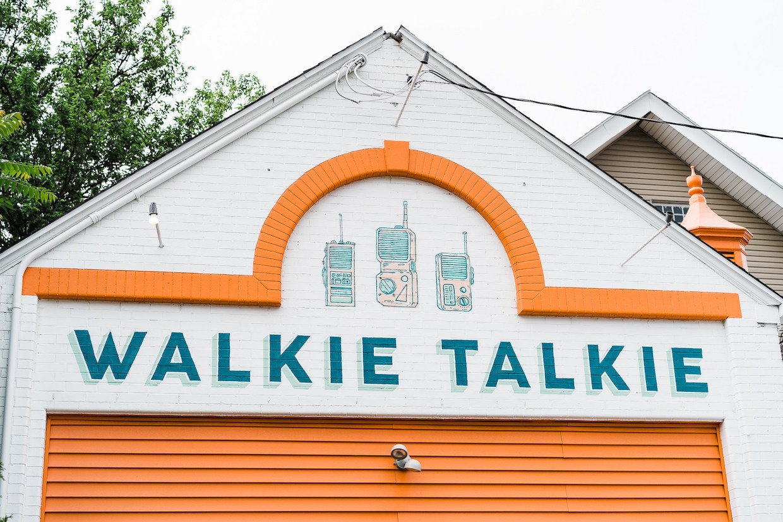Walkie Talkie Espresso & Coffee paintings