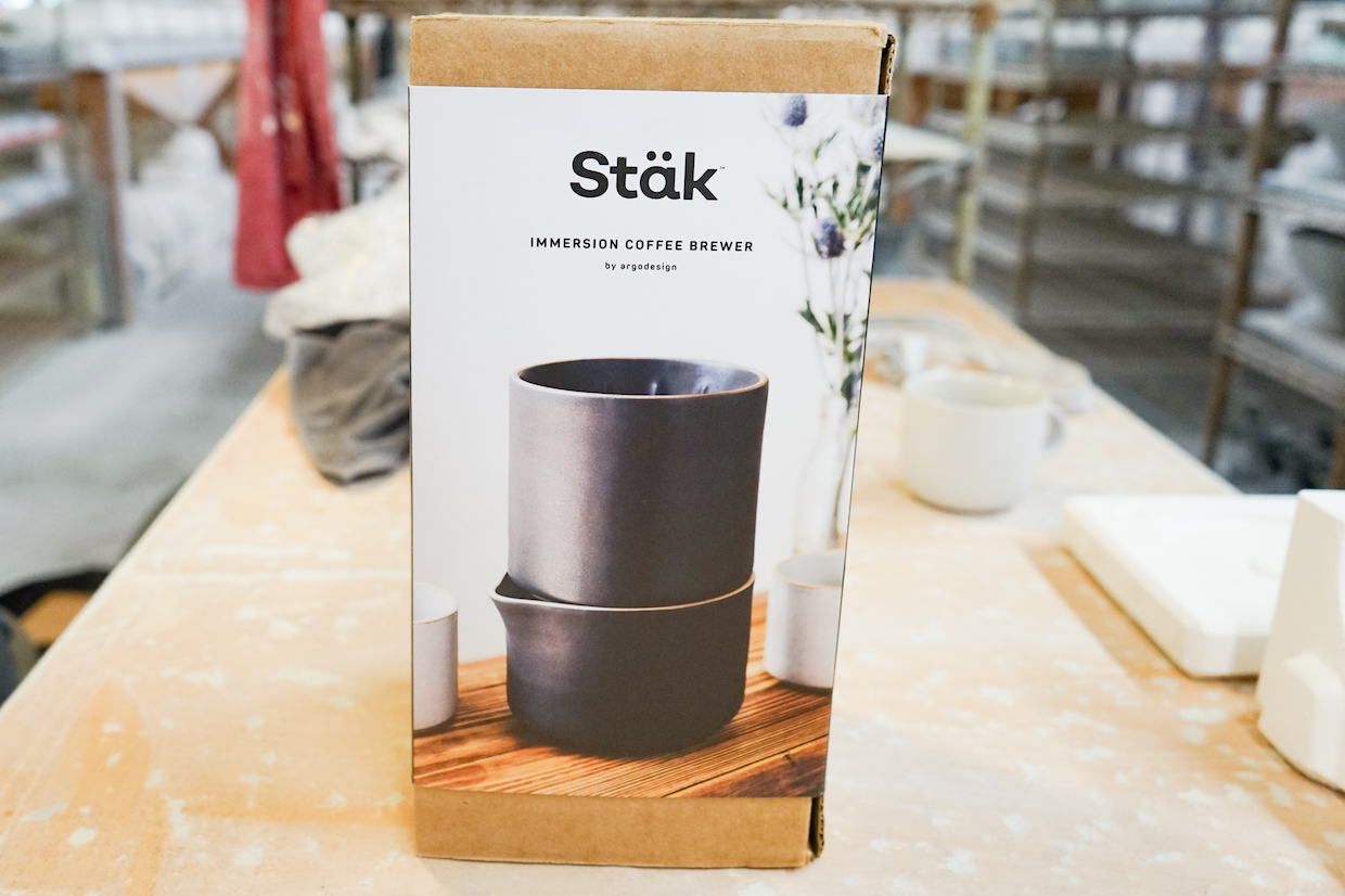 Stäk coffee brewer