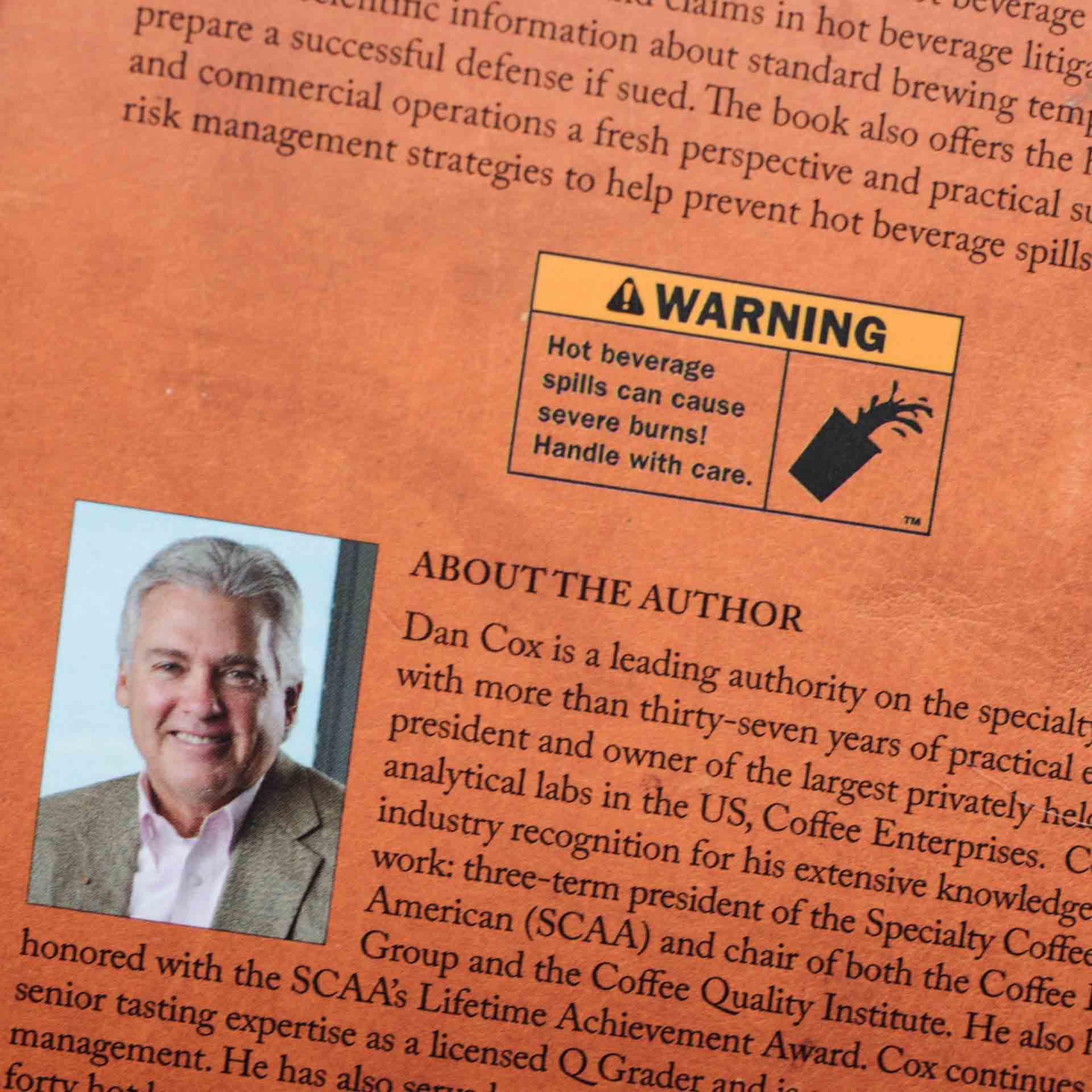 Dan Cox coffee spills author