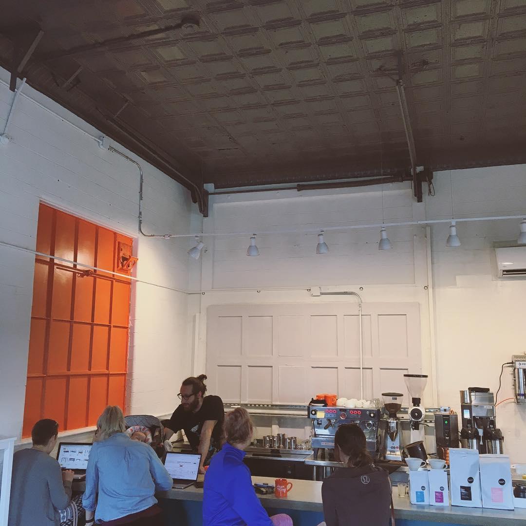 Walkie Talkie Espresso & Coffee bar areas