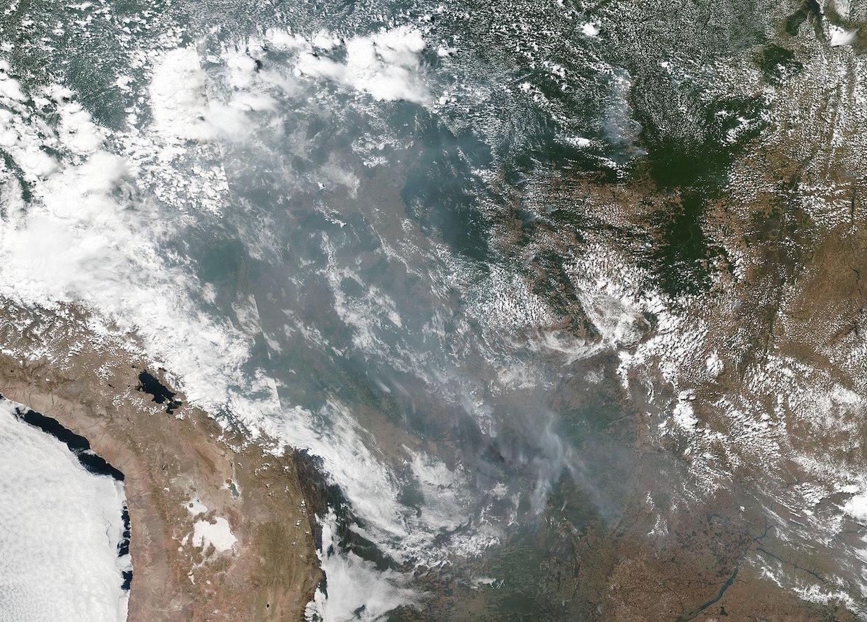 Fires in Brazil Amazon