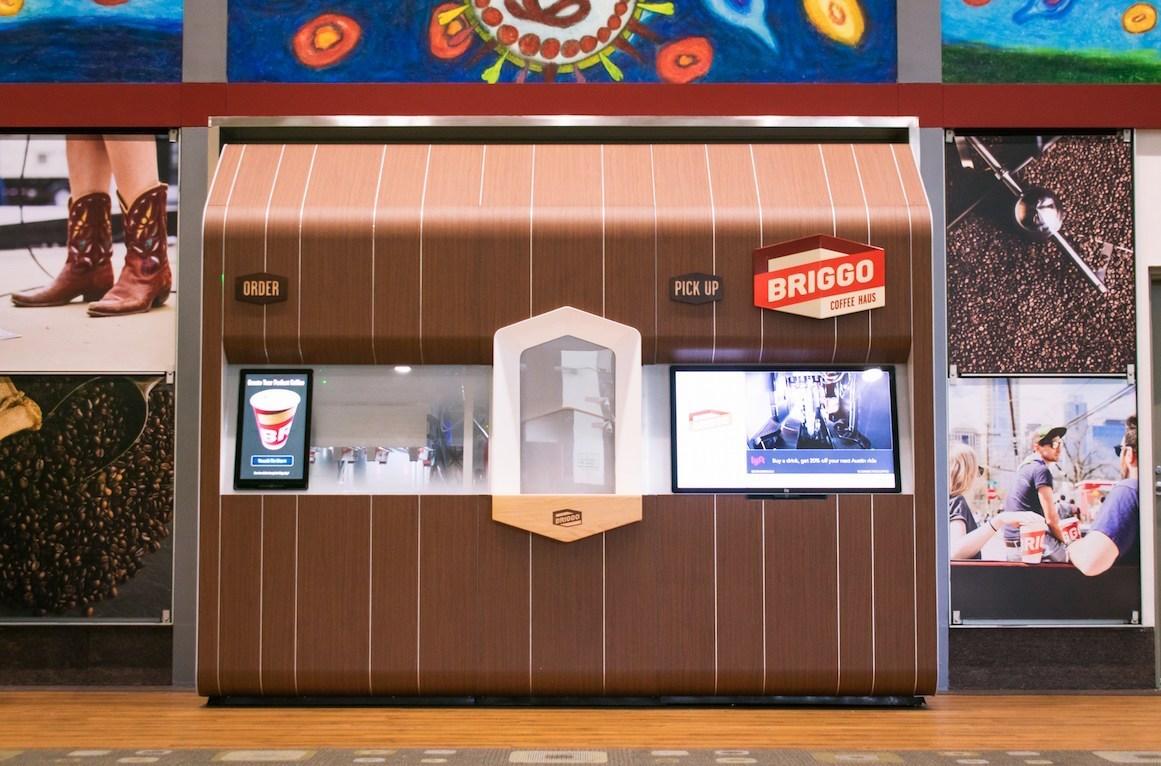 Briggo fully-automated kiosk