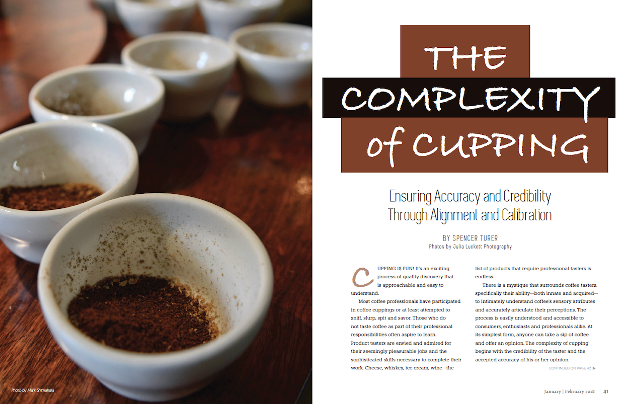 roast magazine cupping