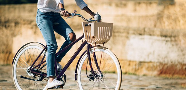 Nespresso aluminume capsules bike