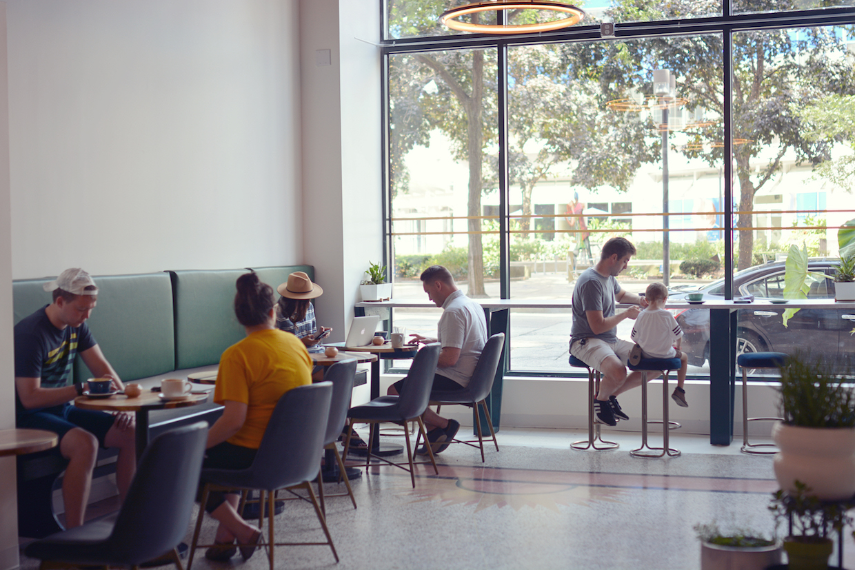 Canary Coffee downtown Milwaukee
