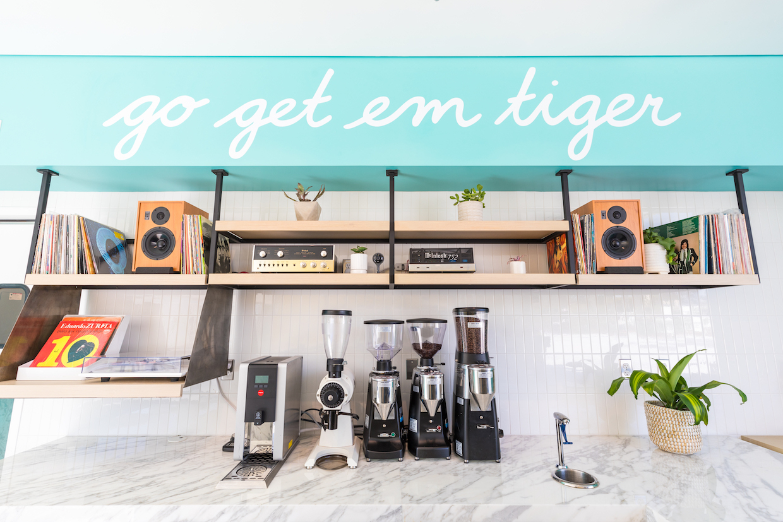 stereo setup at GGET