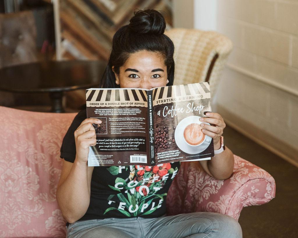 Melissa Villanueva coffee book