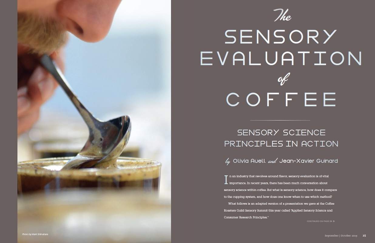 Sensory Evaluation of Coffee