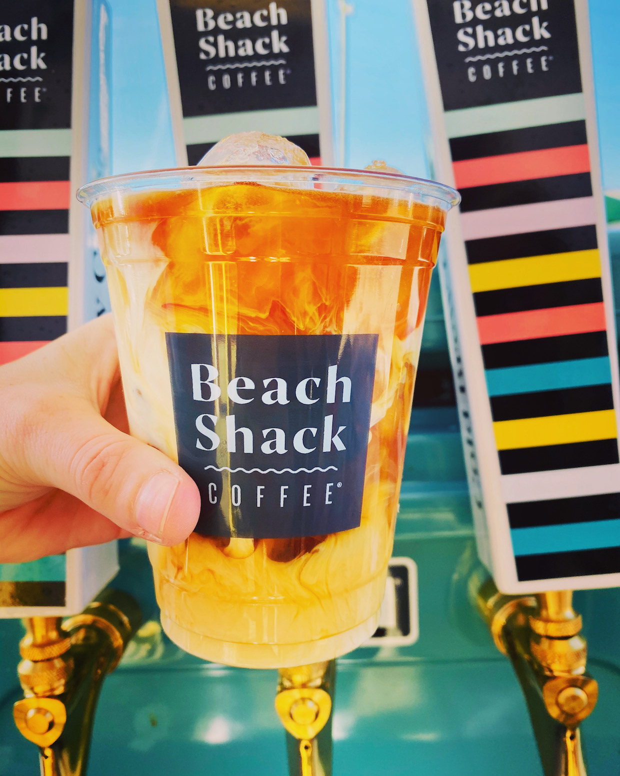 Beach Shack coffee color