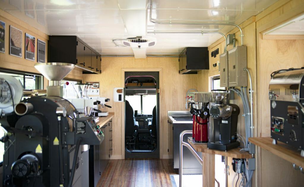 mobile coffee roasters