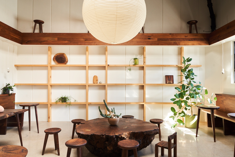 wood coffee shop