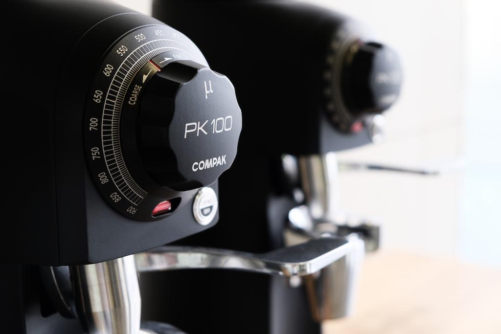 Compak PK100 adjustment knob