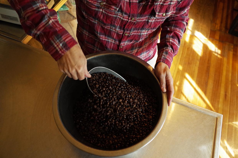 Java Love roasted coffee
