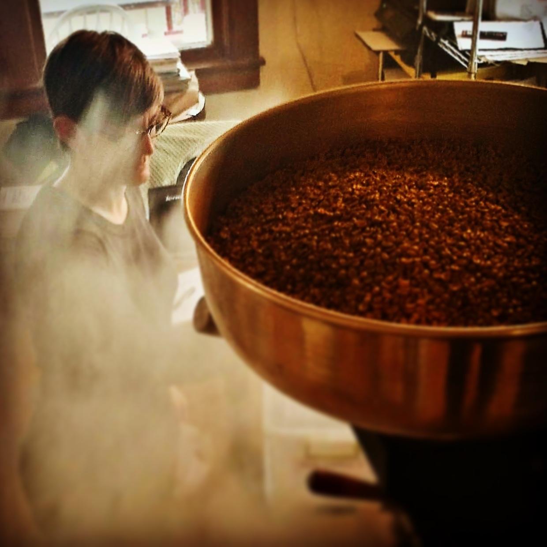 Java Love coffee roaster