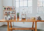 coffee display table