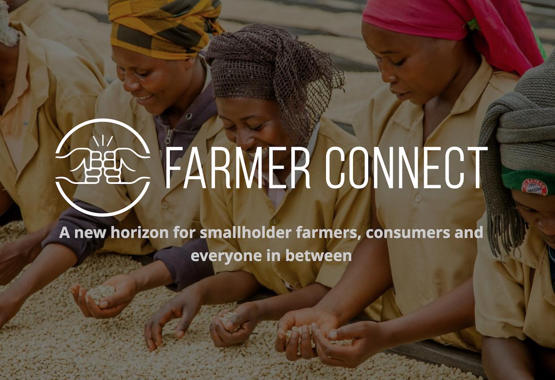 farmer connect blockchain coffee