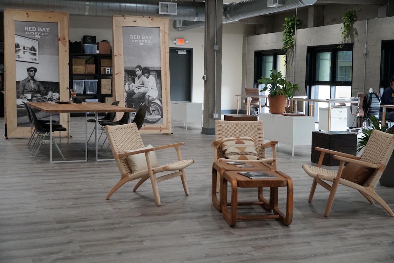 inside Red Bay Coffee