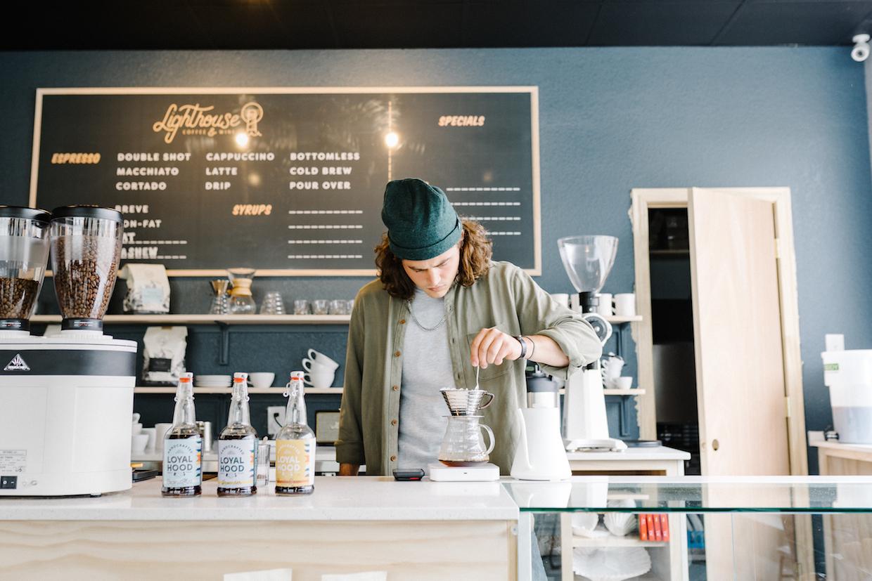 Lighthouse Coffee Waco menu