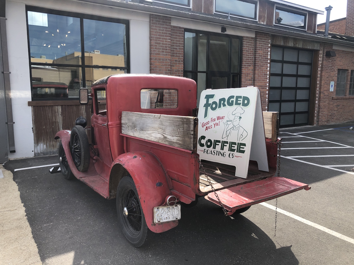 Forged Coffee – photo credit Forged Coffee