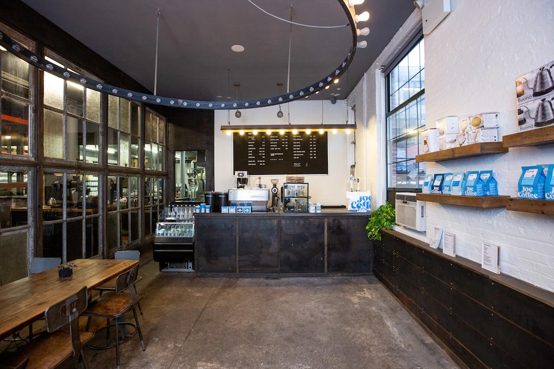 Joe Coffee roastery cafe