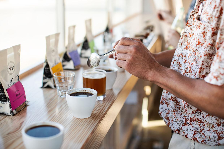 Lighthouse Coffee Waco cupping