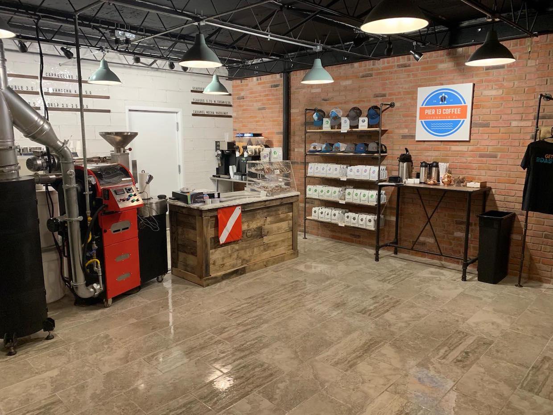 Pier 13 Coffee Titusville