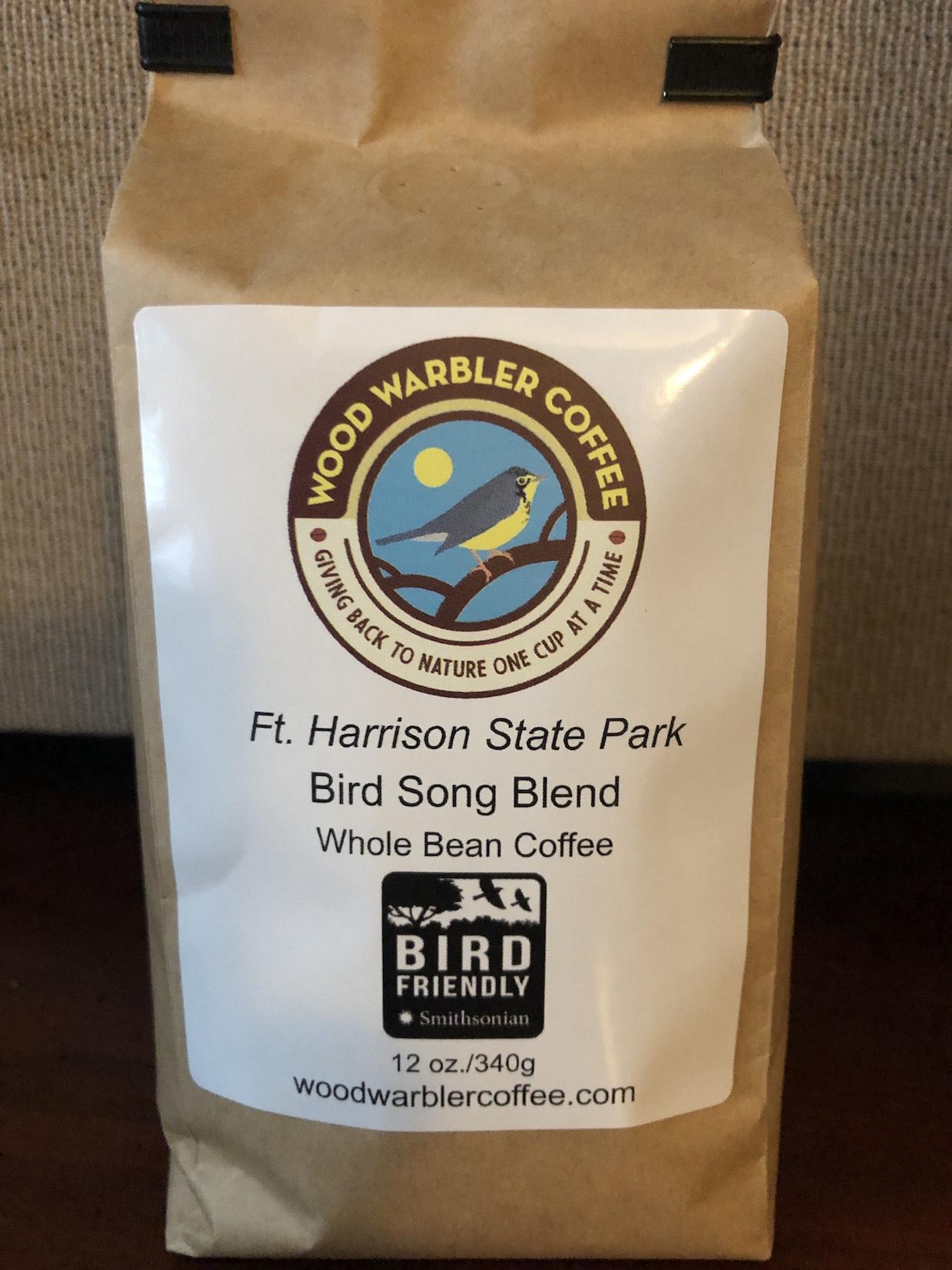 Wood Warbler Coffee bag