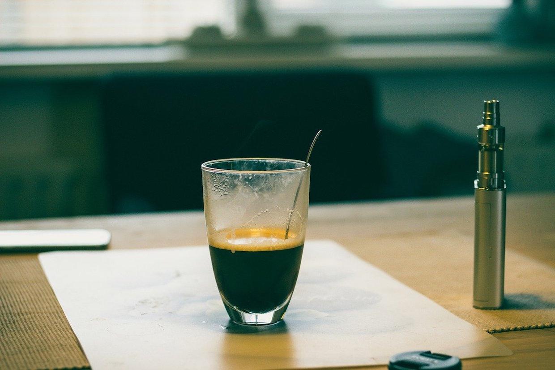 coffee vaping