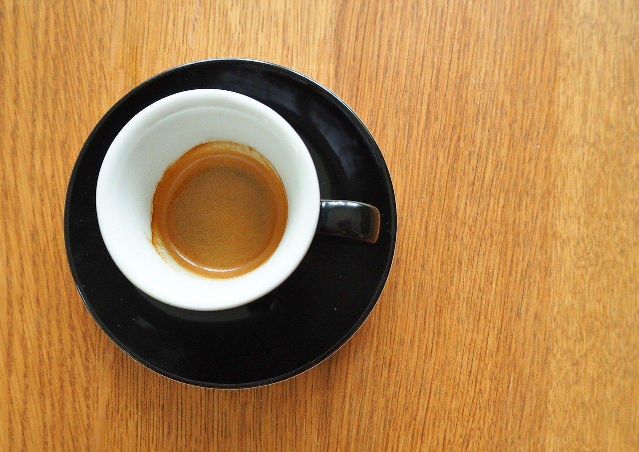 Italian espresso shot