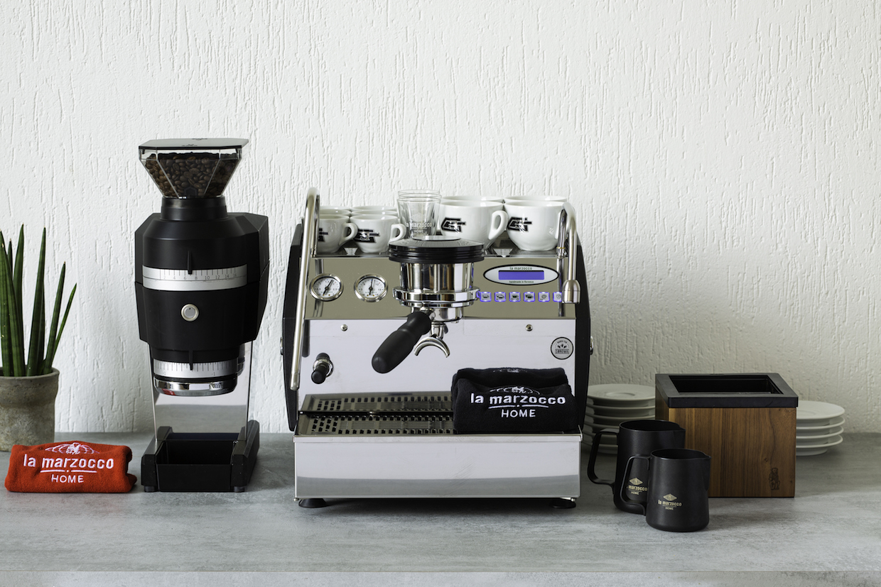 La Marzocco Swift Mini grinder plus espresso machine