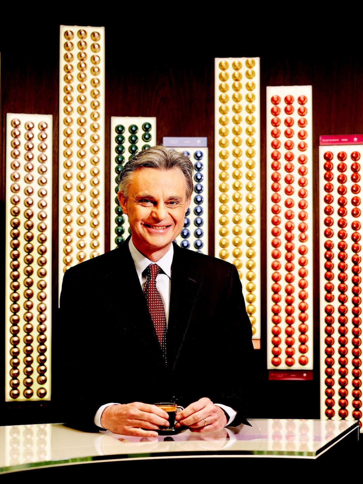 Nespresso CEO Jean Marc Duvoisin