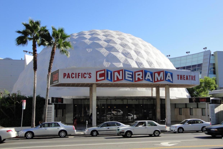Cinerama dome hollywood