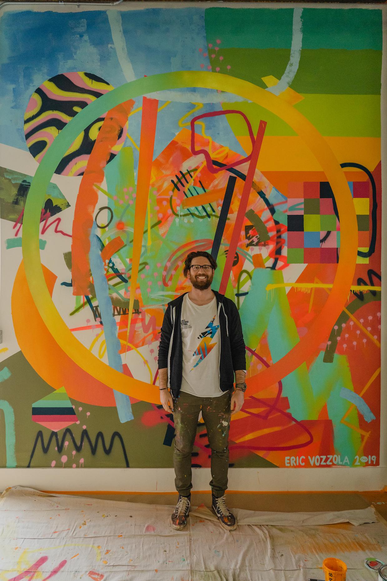 Eric Vozzola mural