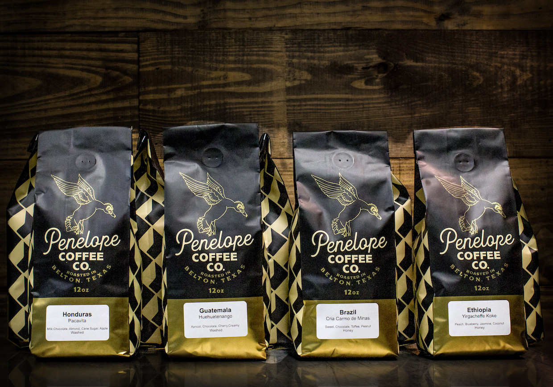 Penelope Coffee bags