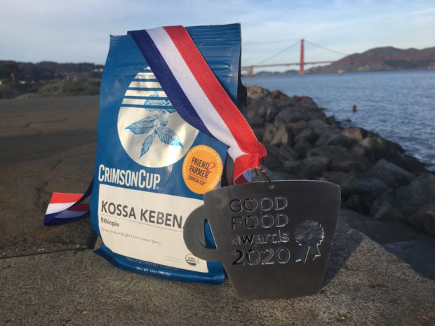 Kossa Kebena with Good Food Medal
