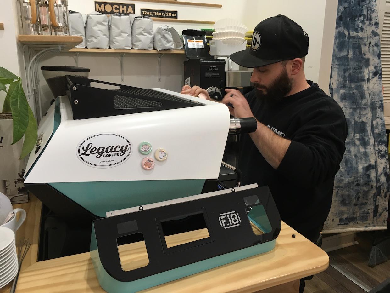 Legacy Coffee Montclair espresso