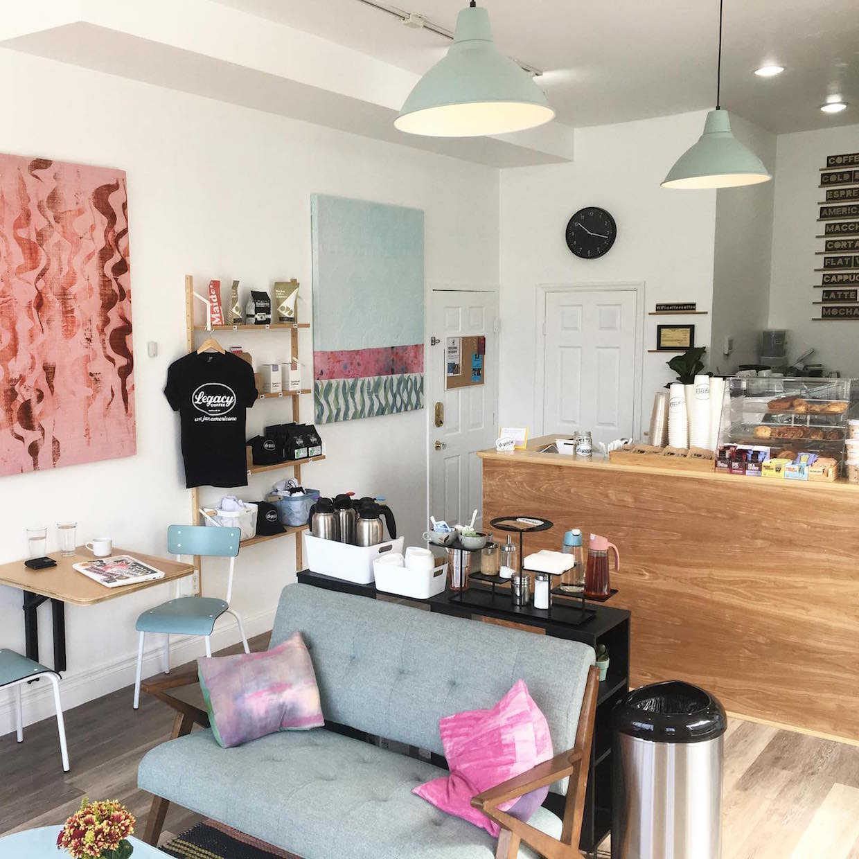 Legacy Coffee Montclair inside