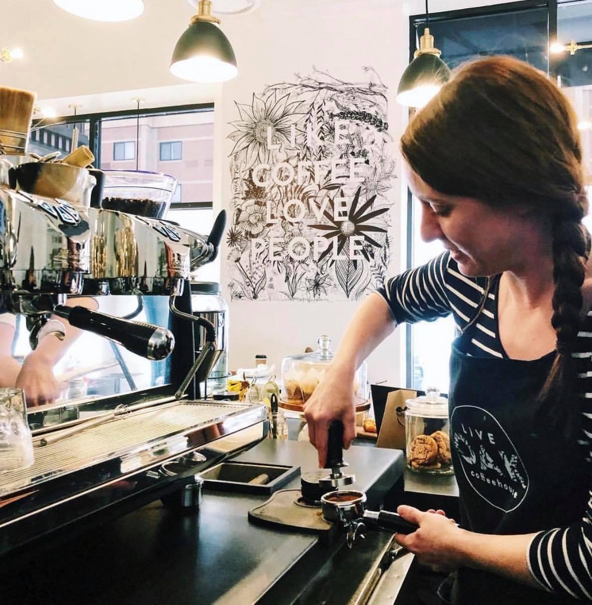 Live Oak Coffee Bay City Cafe