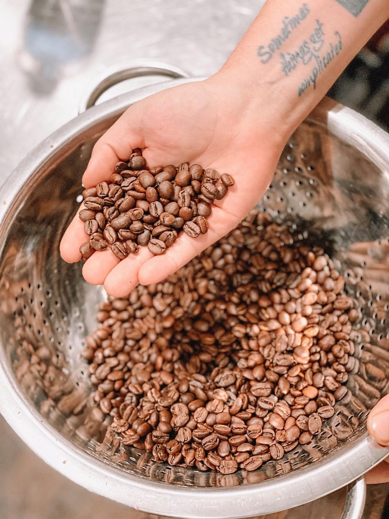 Live Oak coffee roasted