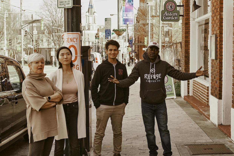 Refuge Coffee team