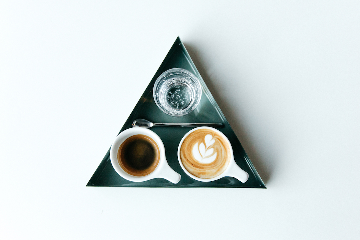 triangle cups